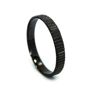 Tread Bangle Gunmetal / Os Ss Bracelets