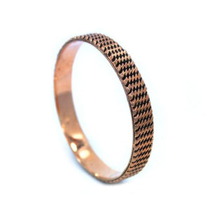 Tread Bangle Rosegold / Os Ss Bracelets