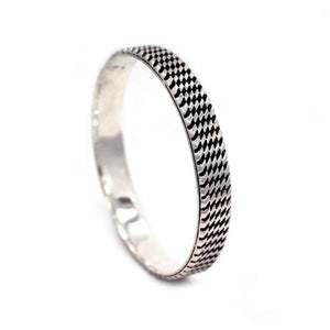 Tread Bangle Silver / Os Ss Bracelets