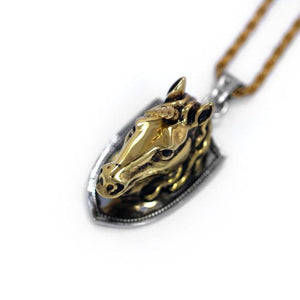Unicorn Head Pendant Pm Necklaces