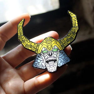 Unicron Enamel Pin
