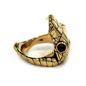 left angle of the Venom Ring gold from the han cholo fantasy collection