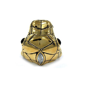 top of the Venom Ring gold from the han cholo fantasy collection