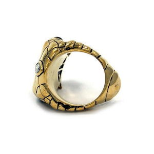 side of the Venom Ring gold from the han cholo fantasy collection