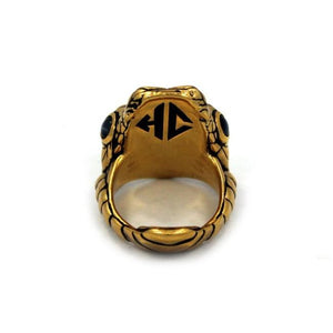 inner detail of the Venom Ring gold from the han cholo fantasy collection
