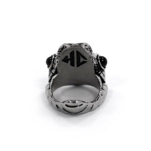 Venom Ring, snake ring, lizard ring, reptile ring, han cholo ring, han cholo jewelry, scale ring