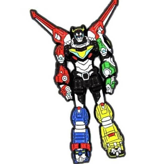 Voltron Legendary Defender Enamel Pin