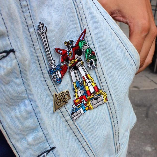 Voltron Patch Cloth / O/s