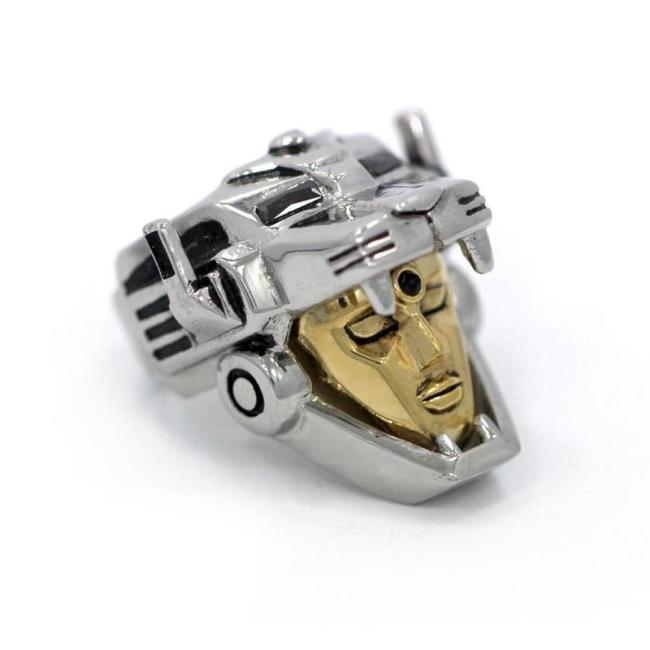 Voltron Ring Silver/gold / 9 Ss Rings