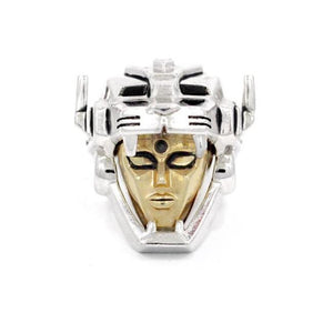Voltron Ring Vermeil/sterling Silver / 9 Pm Rings
