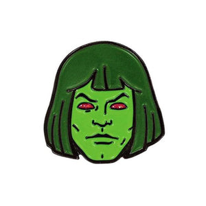 front of the Zombie horde He-Man enamel pin from the masters of the universe collection