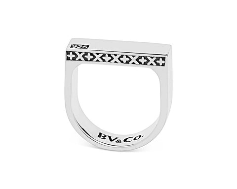 Signature Bar Ring - Polished Sterling Silver
