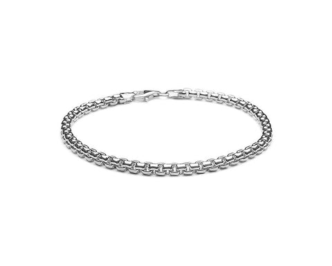 4mm Venetian Chain Bracelet - Polished