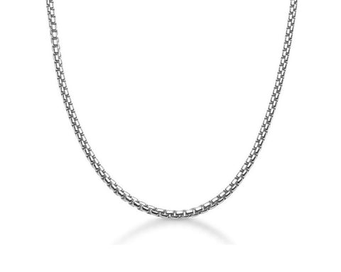 4mm Venetian Chain Necklace - Polished