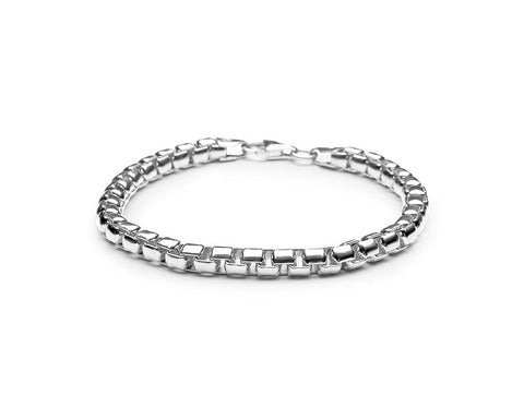5mm Venetian Chain Bracelet - Polished