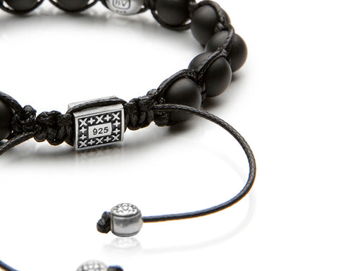Signature Onyx Shamballa - Antiqued