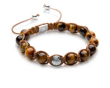 Signature Tiger Shamballa - Polished Sterling Silver