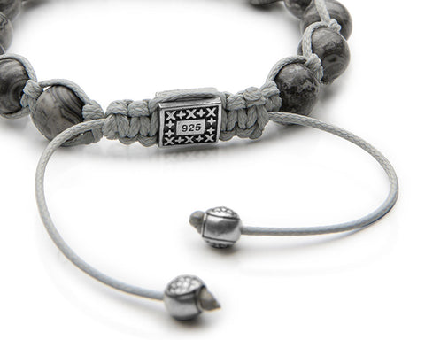 Signature Wolf Shamballa - Antiqued Sterling Silver