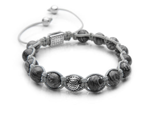 Signature Wolf Shamballa - Polished Sterling Silver