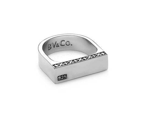 Signature Bar Ring - Polished