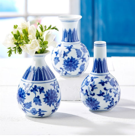 Set of Three Bud Vases