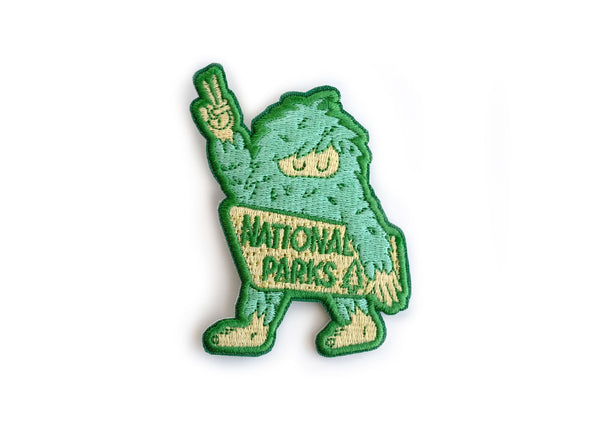 Sasquatch National Park Patch