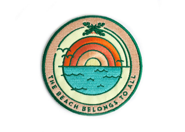 Beach Sunrise Sticky Patch