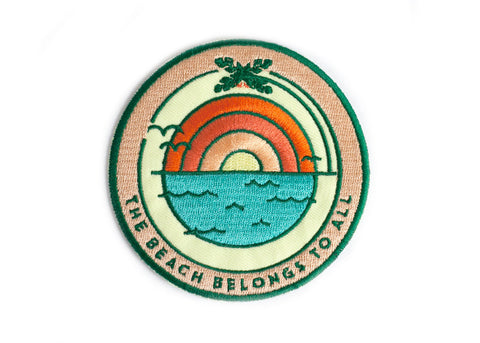 Beach Sunrise Patch