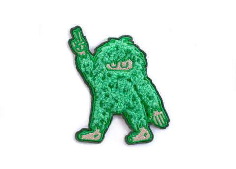 Soft Chenille Sasquatch Patch