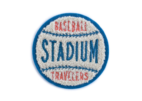 Baseball Stadium Soft Chenille Patch