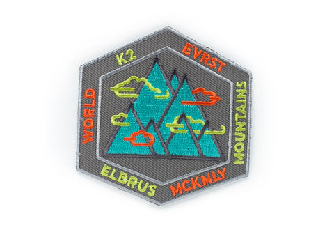 Mountains of the World Patch
