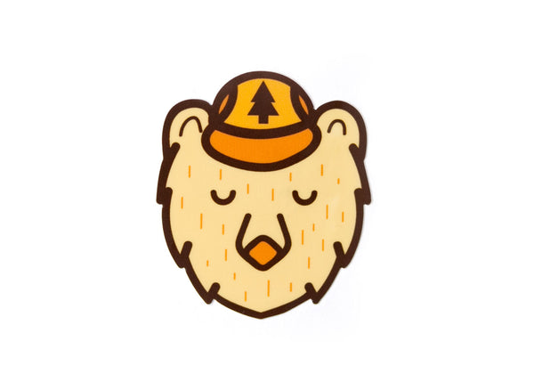 Ranger Bear Vinyl Sticker