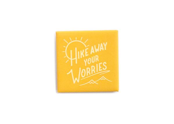 Hike Away Your Worries soft button