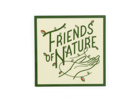 Friends of Nature Sticker