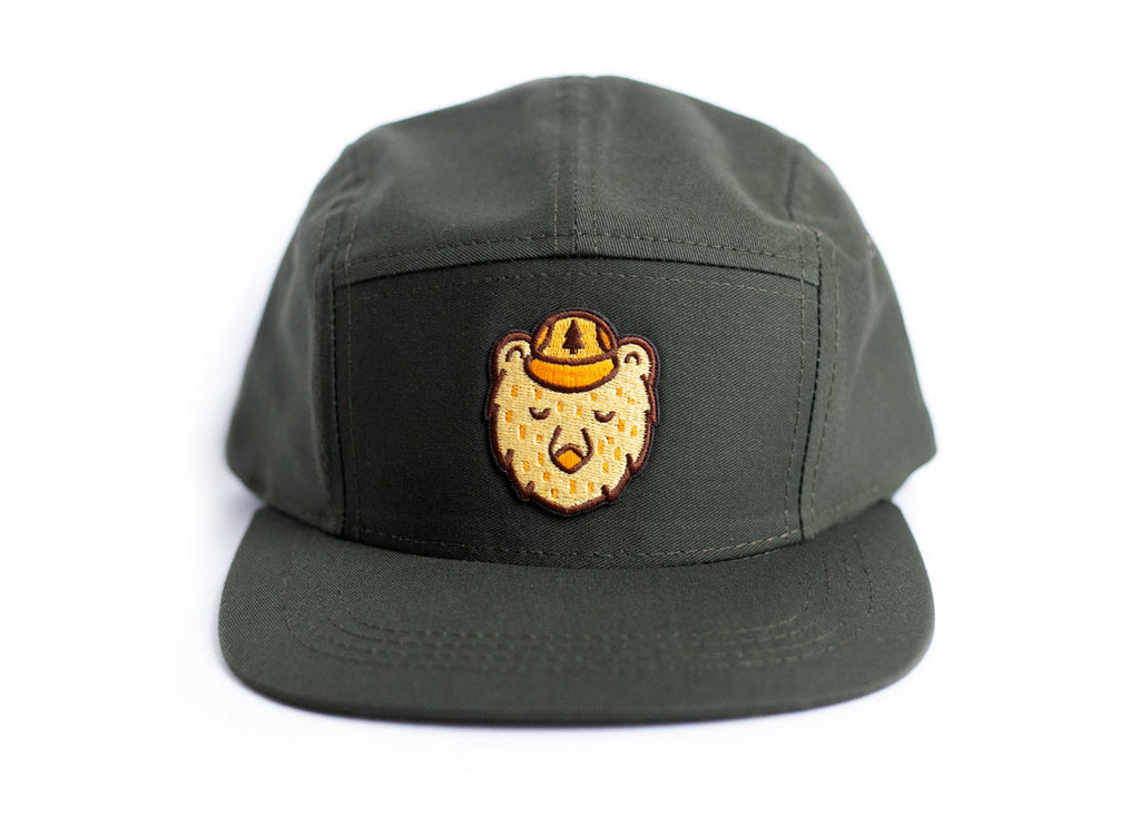 4e69c658f258f Baseball Cap with Ranger Bear Patch – Ello There Outdoors