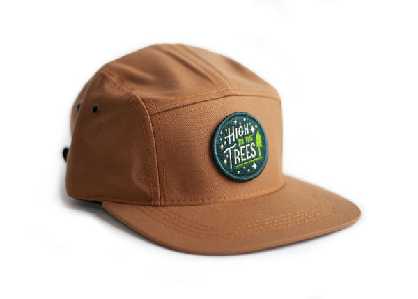 Baseball Cap with High in the Trees Patch