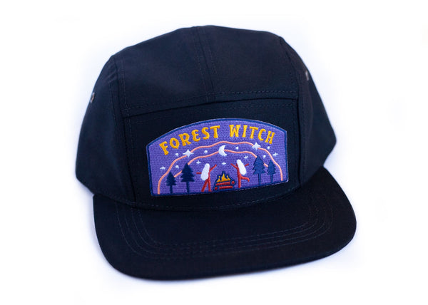 Baseball Cap with Forest Witch Patch