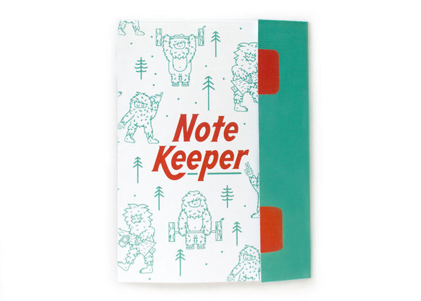 Sasquatch Lifter Note Keeper Notebook