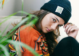 Knit Beanie with Friends of Nature Label