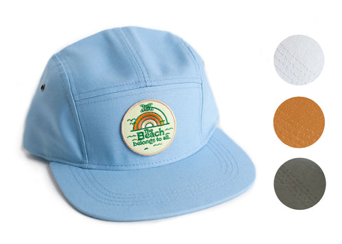 Baseball Cap with Beach Patch