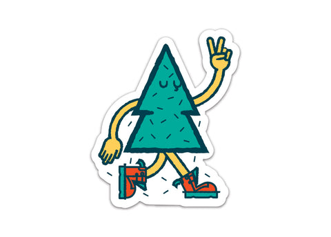 Tree Friend Vinyl Sticker