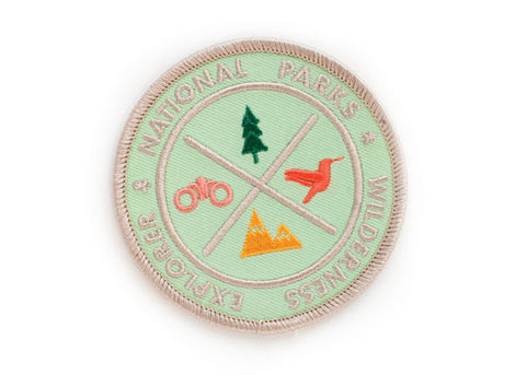 National Parks Explorer's Patch