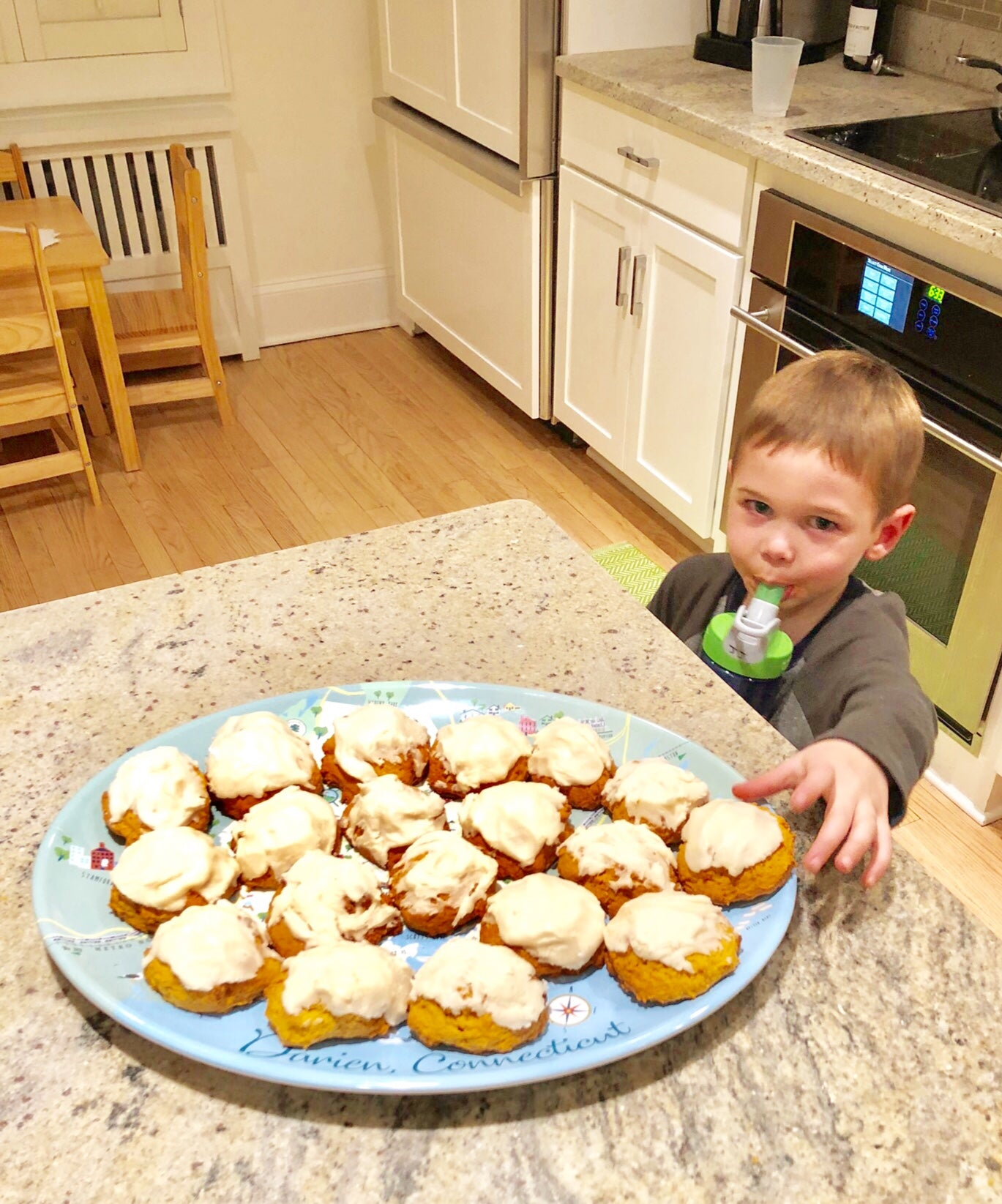 Dudley Stephens pumpkin cookie recipe