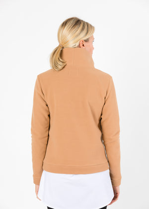 Load image into Gallery viewer, Park Slope Turtleneck (Camel) TH