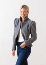 Windsor Blazer (Charcoal Grey)