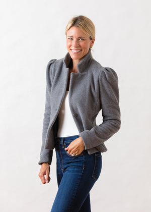 Load image into Gallery viewer, TH - Windsor Blazer (Charcoal Grey)