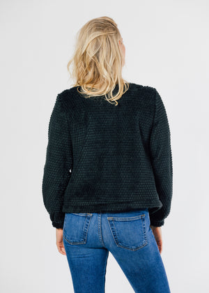 TH - Bijou Bubble Cardigan (Black)