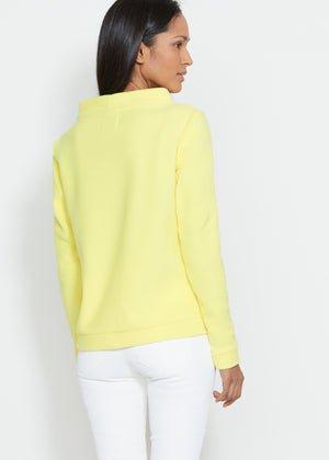 Brighton Boatneck Top (Soft Yellow)