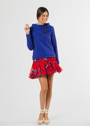 Load image into Gallery viewer, Brighton Boatneck Top (Cobalt)
