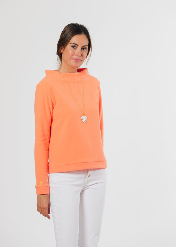 Brighton Boatneck Top (Sherbet)